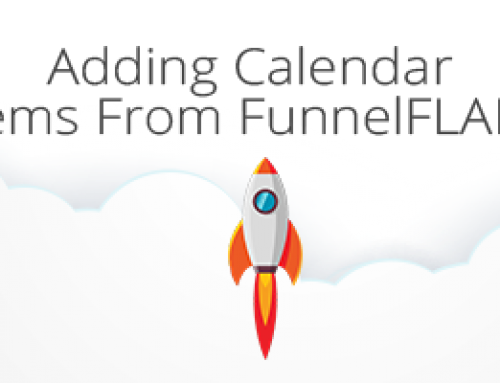 Adding Calendar Items From FunnelFLARE