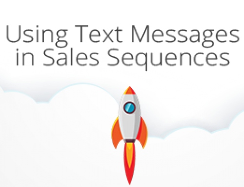 Using Text Messages in Sales Sequences