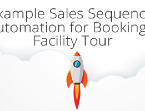 Example Sales Sequence: Automation for Booking a Facility Tour