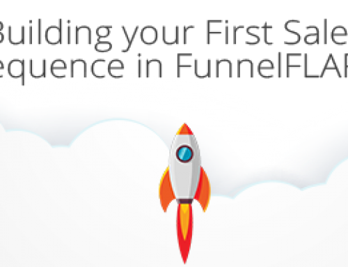 Building your First Sales Sequence in FunnelFLARE