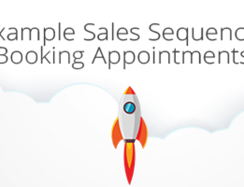 Example Sales Sequence for Booking Appointments