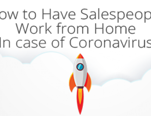 How to Have Salespeople Work from Home (In case of Coronavirus)