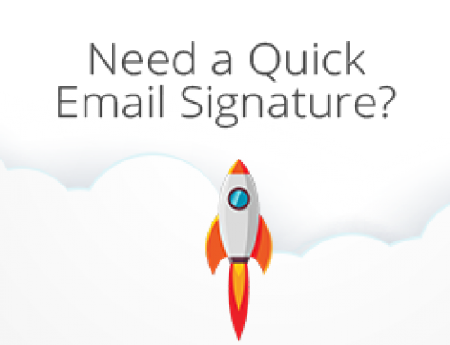 Need a Quick Email Signature?