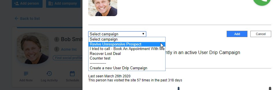 Nimble Email Drip Campaigns
