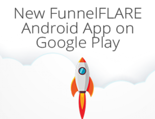 New FunnelFLARE Android App on Google Play