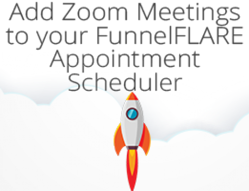 Add Zoom Meetings to your FunnelFLARE Appointment Scheduler