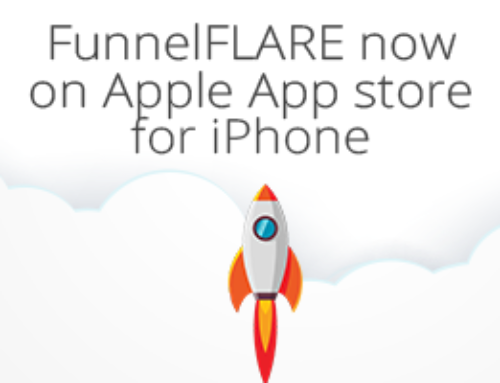 FunnelFLARE now on Apple App store for iPhone