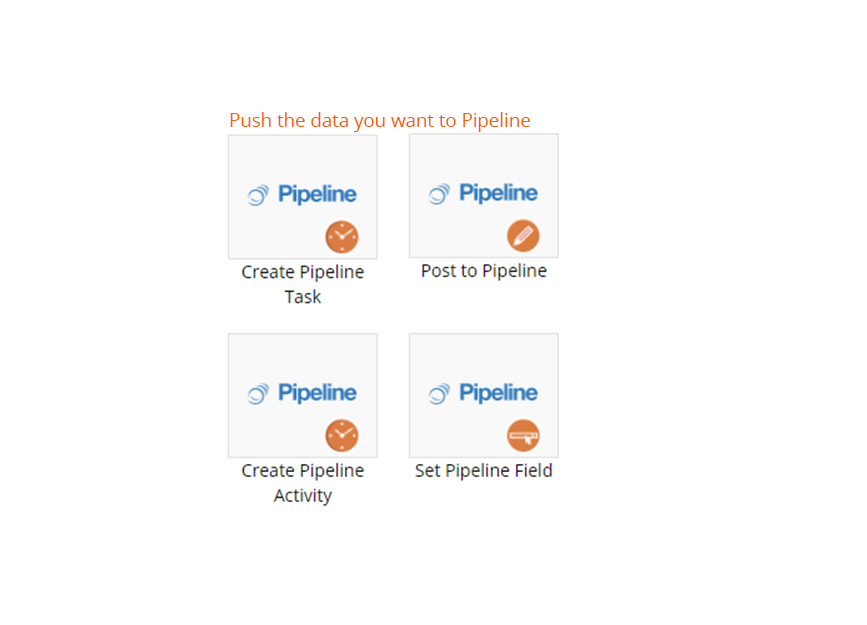 pipeline integration action items